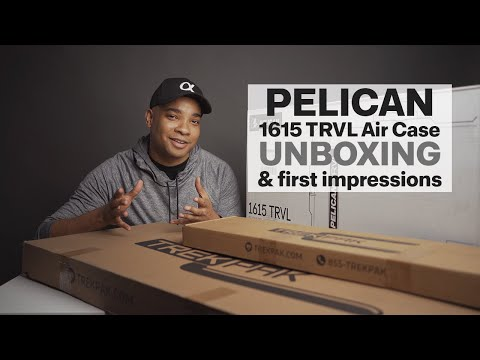 Pelican // 1615TRVL Air Travel Case - Unboxing & First Impressions
