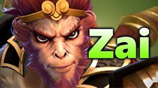 Zai Monkey King - EG vs ONYX - Betway Arena 7.03 DOTA 2
