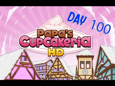 Papa's Cupcakeria HD Day 100 - iOS/Android Gameplay