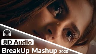Breakup mashup | sad songs 8d audio 2020 best romantic headphones i use: https://amzn.to/2gdfgak #8dbollywoodhungama #8dmashup #sadsongs8d -...
