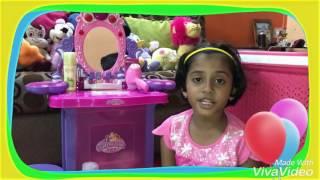 Prisha's Barbie Makup
