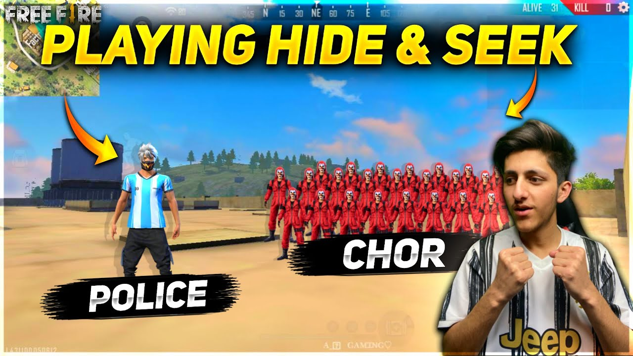 HIDE & SEEK IN FREE FIRE PURGATORY MAP - GARENA FREE FIRE