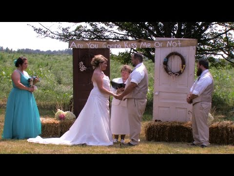 Kasey & Trent Wedding Highlights • Barryton, MI