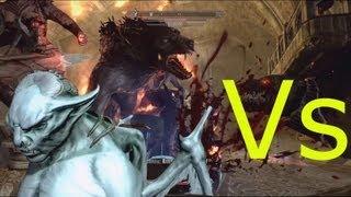 Skyrim: Dawnguard Vampires vs Werewolfs