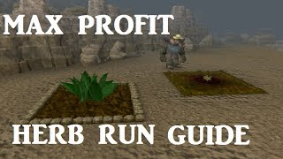 Complete Herb Run Guide - 500k+ Profit per Run [Runescape 2014]