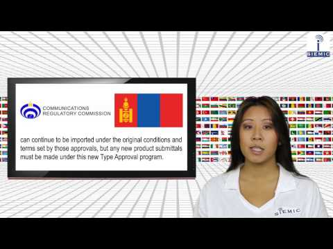 SIEMIC News - Mongolia Announces New Radio & Telecommunications Type Approval Program