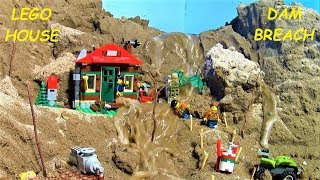 BIGGEST LEGO DAM BREACH FILM - LEGO HOUSE ! THREE PARTS !
