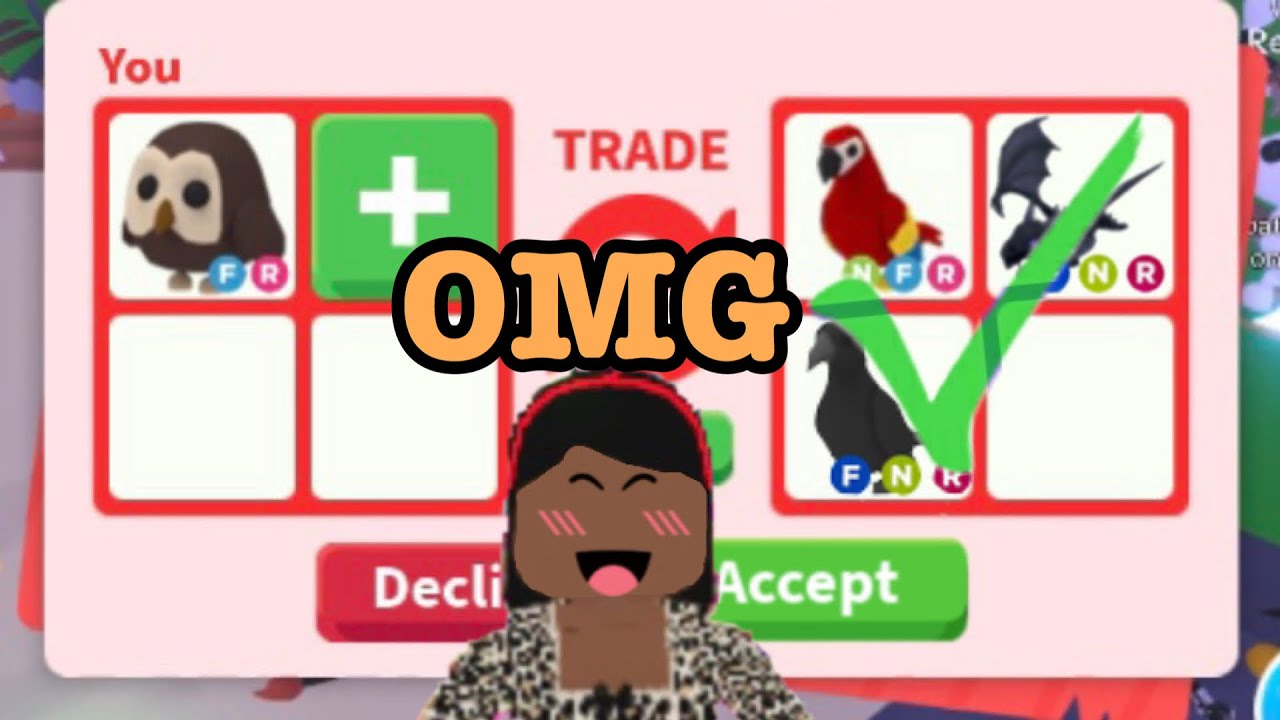 Download WHAT PEOPLE TRADE FOR AN OWL! ~| Roblox Adopt me |