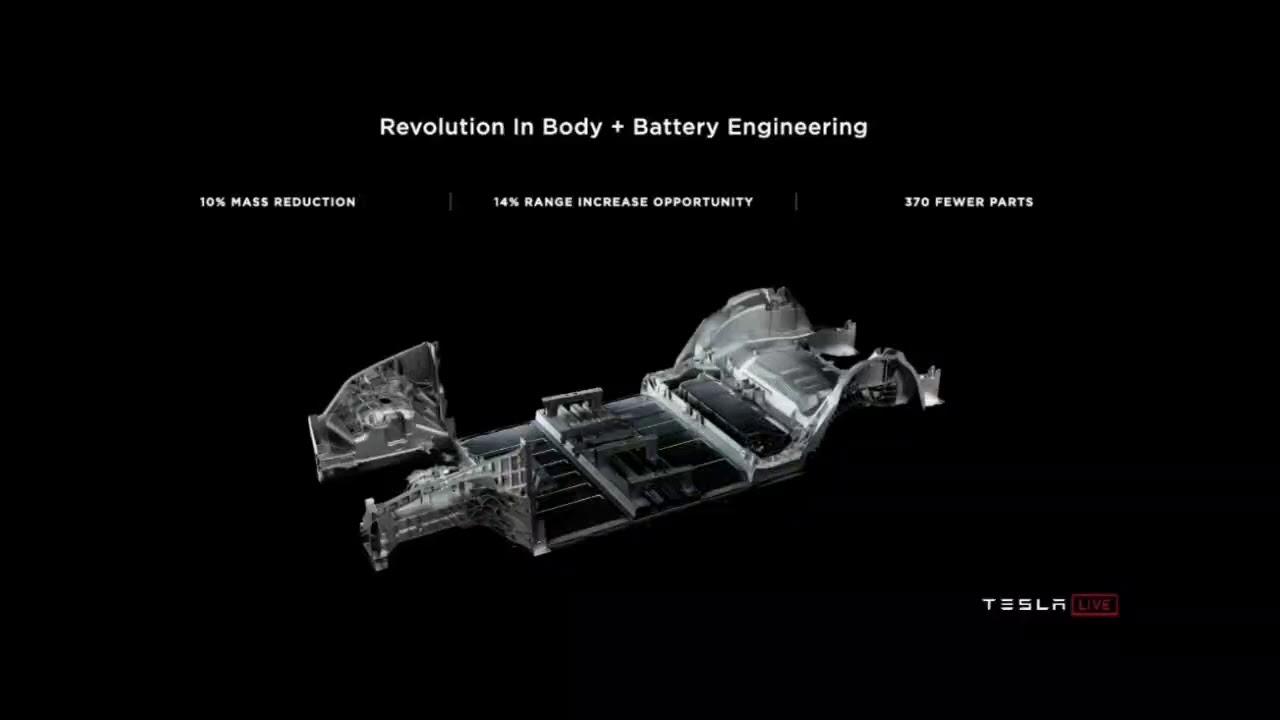 Tesla 電池技術 #tableless batteries