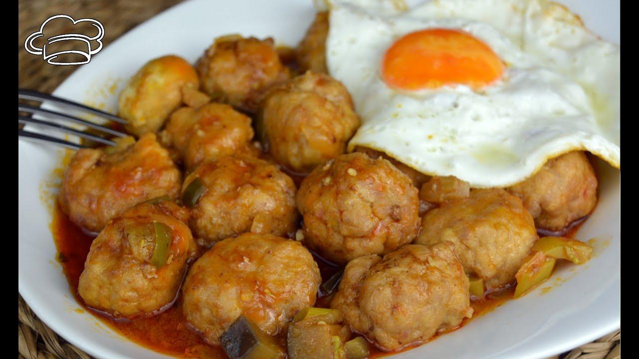 postres dieta disociada albondigas en salsa