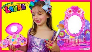 LAURINHA PRETEND PLAY DRESS UP & KIDS MAKE UP TOY