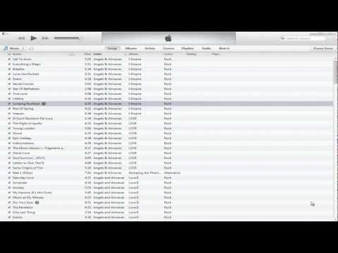 How to delete all songs in your iTunes music library