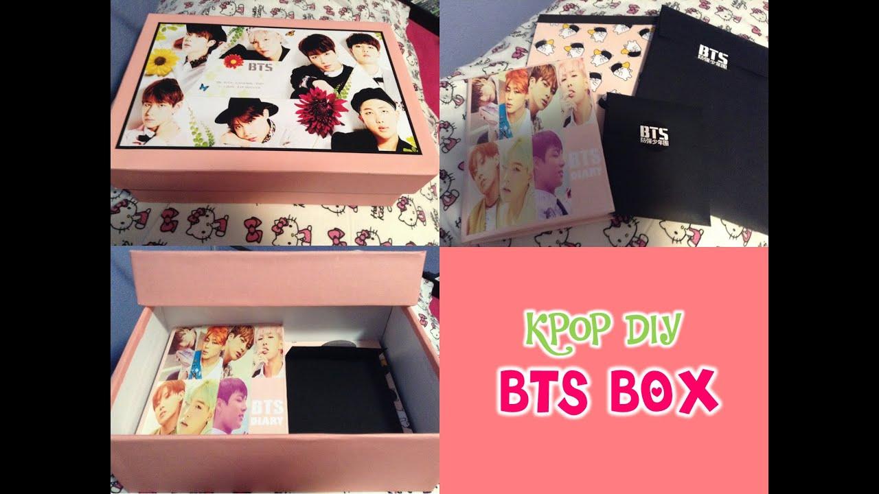 KPOP DIY Como hacer una lucky box o caja sorpresa (BTS ... - photo#27