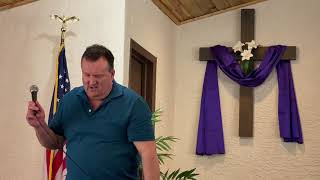 Pastor Hopkins delivers the sermon for Apr. 4th, 2021