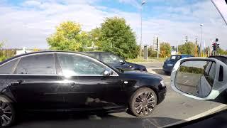 Ауди А6 vs Audi Q7 На разгоне