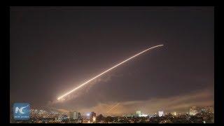 LIVE: Syrians defiant after U.S.-led attacks