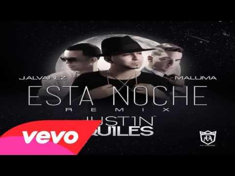 Justin Quiles Ft. J Alvarez Y Maluma - Esta Noche (Official Remix) | REGGAETON 2014