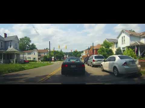 Driving Through Lancaster, Ohio