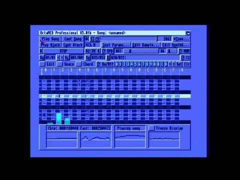 IMAN Octamed | Amiga music
