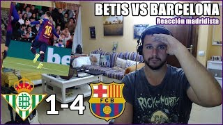 ¡MESSI DECIDE LA LIGA! BETIS VS BARCELONA 1-4 REACCION | LA LIGA 2019