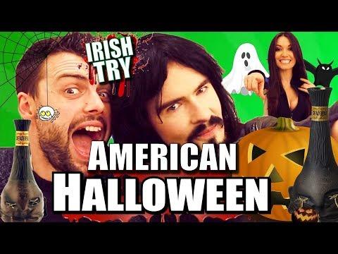 Irish People Try 'AMERICAN HALLOWEEN'  From 'ARIZONA'