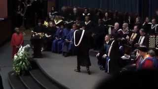 Back Flip During UofT Convocation Spring 2015 thumbnail