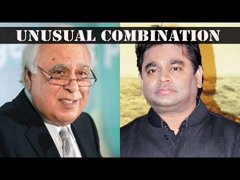 Kapil Sibal pens lyrics for A.R. Rahman