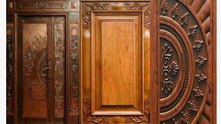 Best Wooden main doors for modern homes