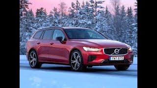 2019 Volvo V60 T8 Twin Engine Plug-in Hybrid – DESIGN & DRIVING