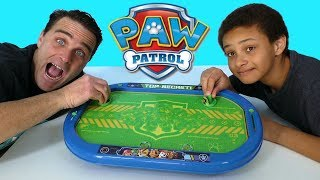 Paw Patrol Air Hockey Table  ! || Toy Review || Konas2002