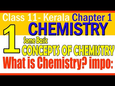 Chemistry || PART 1||  what is Chemistry?||BASIC CONCEPTS OF CHEMISTRY || CLASS 11|