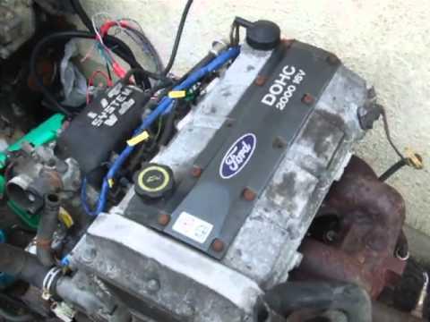 Ford 20 DOHC 16v Megasquirt  YouTube