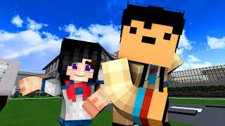 Yandere High School - HIDE AND SEEK! (Minecraft Roleplay) #16