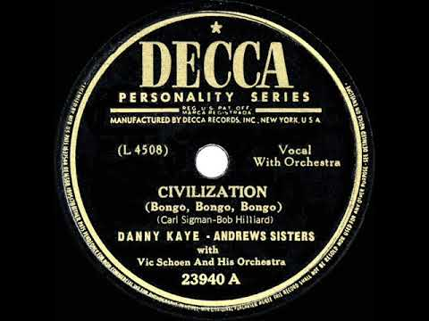 1947 HITS ARCHIVE: Civilization (Bongo, Bongo, Bongo) - Dann