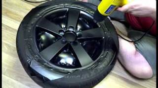 DIY: Wrapping Rims in Matte Black Vinyl thumbnail