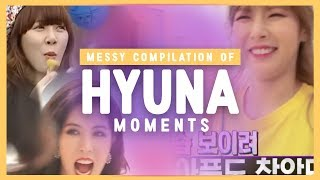 A messy compilation of Kim HyunA - Best & Funny moments #1