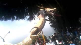 Muncul penampakan naga di Panjalu Ciamis