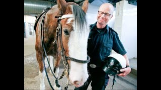 ANIMALS HELP KEEP THE PEACE: New recruits for Toronto Police