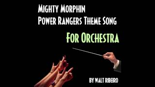 Repeat youtube video Mighty Morphin Power Rangers 'Go Go Power Rangers' For Orchestra (iTunes link below!)