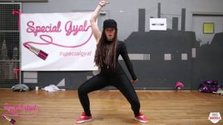 KATRIN WOW DANCEHALL WORKSHOP AT SPECIAL GYAL UNIVERSE 2016