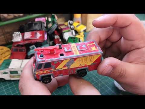 Matchbox Garage - Boot Sale (Flea Market) Finds - No 1