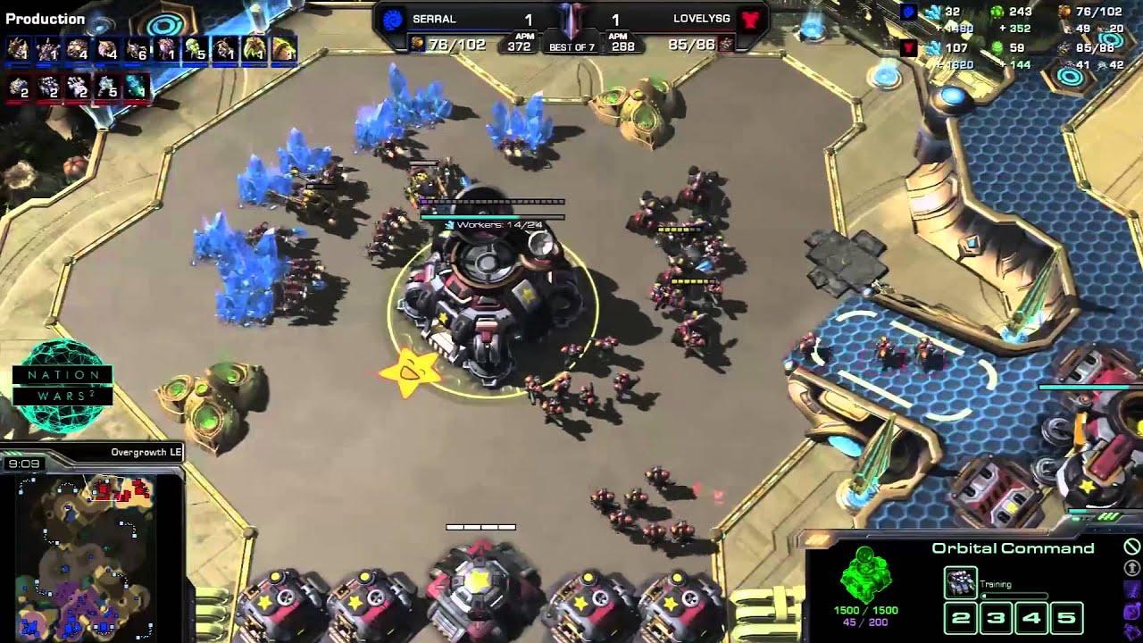 Mexico vs.  Finland - Game 3 - StarCraft 2