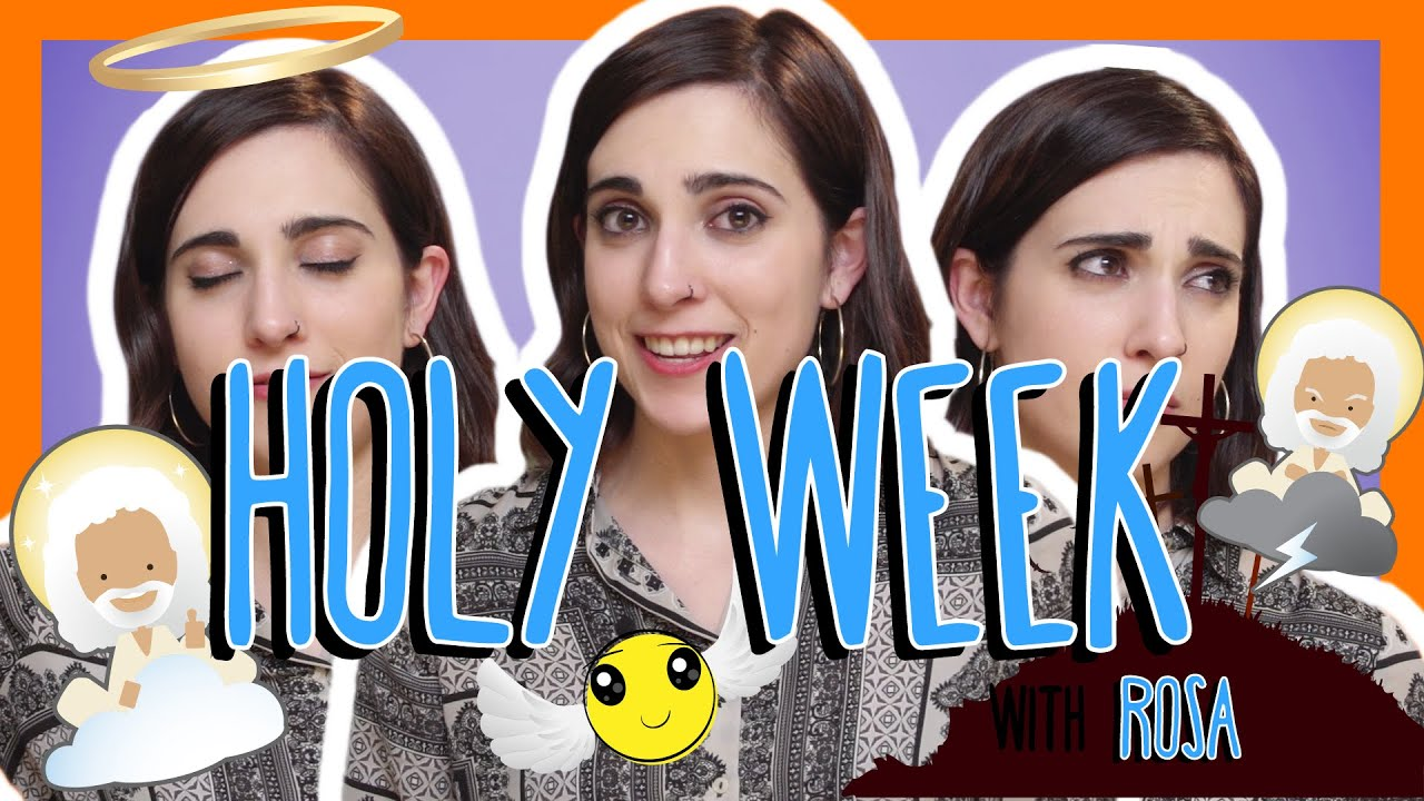 Spanish Holy Week Words With Rosa Youtube
