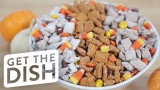 Halloween Candy Puppy Chow | Get the Dish