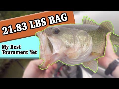 LAKE MACKINTOSH 21.83 Lbs Limit Of Bass