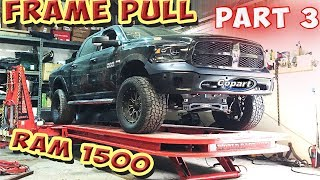 Rebuilding Wrecked 16 Dodge RAM First Framework (Part 3)