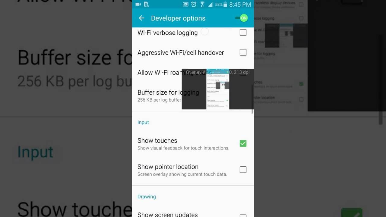 Come Disattivare Overlay Schermo Android Samsung Youtube