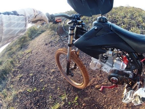 Motoped ON OFF road Test by GuzMotoRacing