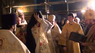 Возведение в сан архимандрита настоятеля Патриаршего Подворья в Софии игумена Филиппа (Васильцева)