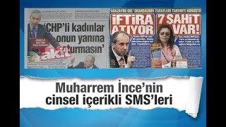 Ersin Ramoğlu        Muharrem İnce'nin cinsel içerikli SMS'leri